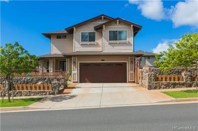 Kapolei Single Family Home For Sale: 92-718 Welo Street