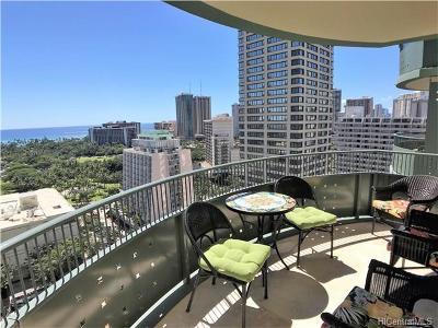 Hawaii County, Honolulu County Rental For Rent: 421 Olohana Street #1702