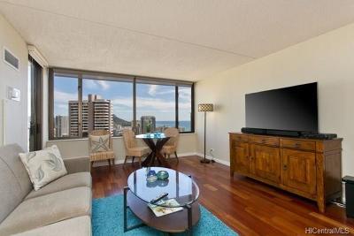 Honolulu HI Condo/Townhouse For Sale: $525,000