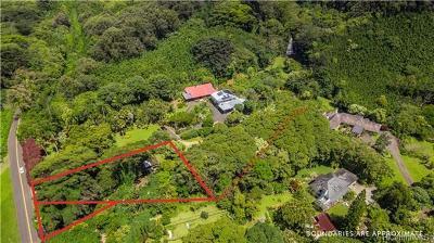 Single Family Home For Sale: 4151 Nuuanu Pali Drive #Lot 6 B