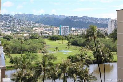 Condo/Townhouse For Sale: 2345 Ala Wai Boulevard #1003