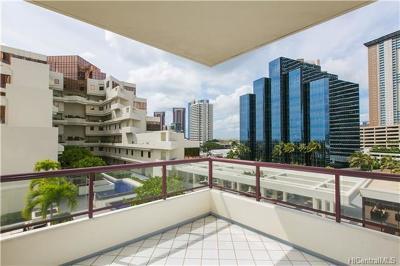 Condo/Townhouse For Sale: 725 Kapiolani Boulevard #803