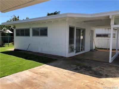Honolulu Rental For Rent: 1933 Bingham Street #A
