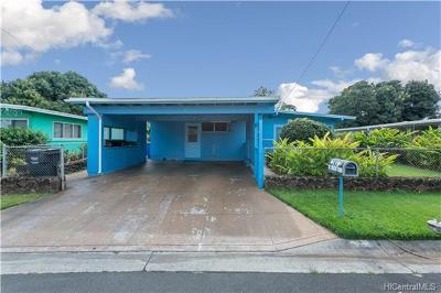 Single Family Home For Sale: 94-461 Kalukalu Street