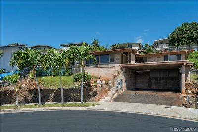 Honolulu Single Family Home For Sale: 1288 Ala Aloalo Street