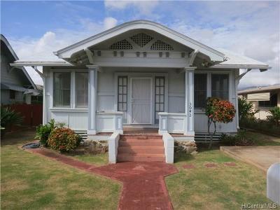 Honolulu Rental For Rent: 3042 Makini Street