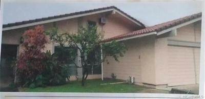 Single Family Home For Sale: 7215 Opaekaa Street