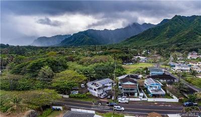 Hauula Single Family Home For Sale: 54-004 Kamehameha Highway