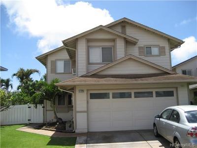 Ewa Beach Single Family Home For Sale: 91-579 Puhilaka Place