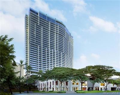 Honolulu County, Hawaii County Condo/Townhouse For Sale: 383 Kalaimoku Street #3505