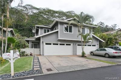 Mililani Single Family Home In Escrow Showing: 95-1268 Wikao Street #16