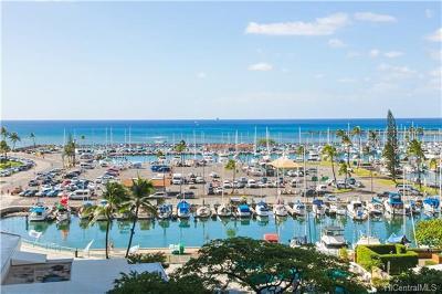 Honolulu County Condo/Townhouse For Sale: 1777 Ala Moana Boulevard #402