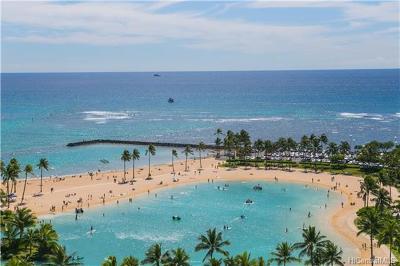 Honolulu County Condo/Townhouse For Sale: 1777 Ala Moana Boulevard #1630