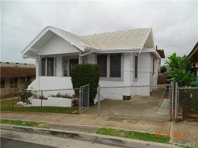 Honolulu Single Family Home In Escrow Showing: 3252 Esther Street