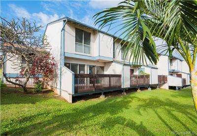 Kapolei Condo/Townhouse For Sale: 92-958 Panana Street #27