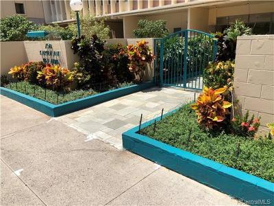 Honolulu Condo/Townhouse For Sale: 750 Kaheka Street #1002
