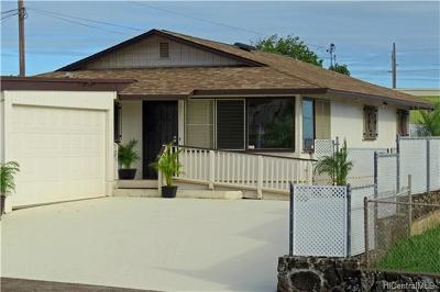 Pearl City Single Family Home In Escrow Showing: 1545 Kuahaka Street