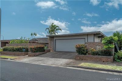 Mililani Single Family Home In Escrow Showing: 94-435 Hokuili Street