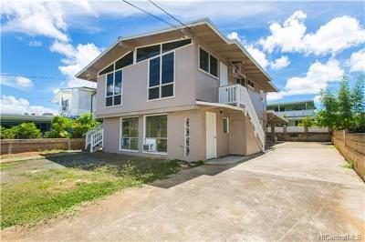 Waipahu Single Family Home In Escrow Showing: 94-315 Kahuanani Street