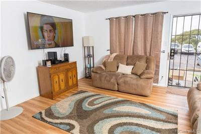 Pearl City Condo/Townhouse In Escrow Showing: 98-441 Hookanike Street #A