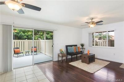 Kapolei Condo/Townhouse In Escrow Showing: 91-1075 Namahoe Street #9D