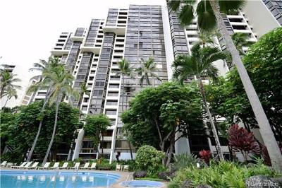 Honolulu County Condo/Townhouse In Escrow Showing: 521 Hahaione Street #2/1G