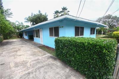 Waialua Single Family Home In Escrow Showing: 67-253 Kiapoko Street
