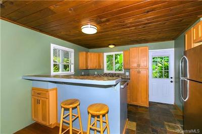 Kaneohe Single Family Home In Escrow Showing: 47-457 A Ahuimanu Road