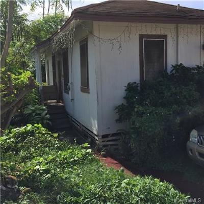 Honolulu Single Family Home For Sale: 1917 Uhu Street