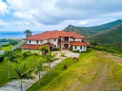 Single Family Home For Sale: 103 Hoolako Place