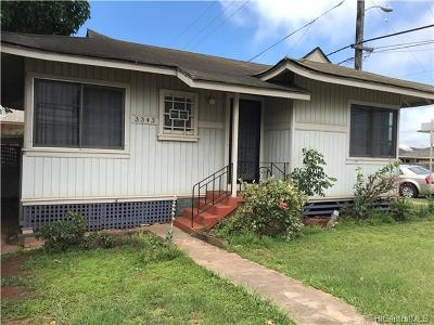 Single Family Home For Sale: 3343 Harding Avenue