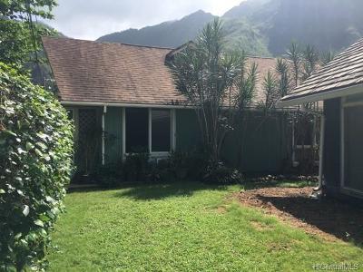 Kaaawa Single Family Home For Sale: 51-529 Kamehameha Highway #7