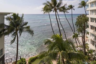 Honolulu Condo/Townhouse For Sale: 2947 Kalakaua Avenue #601