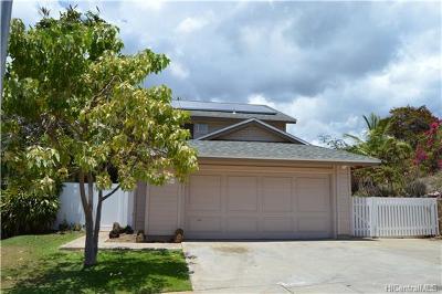 Waianae Single Family Home For Sale: 87-178 Kulahanai Place