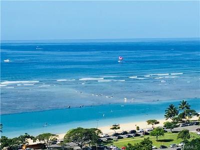 Honolulu County Condo/Townhouse For Sale: 1330 Ala Moana Boulevard #2002