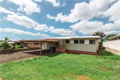Waipahu Single Family Home For Sale: 94-849 Lumiiki Street