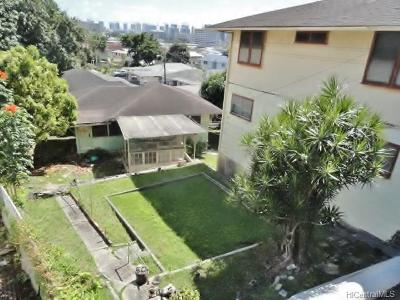 Honolulu Single Family Home For Sale