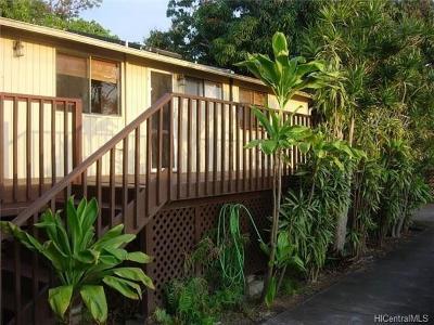 Kailua Single Family Home For Sale: 73-1130 Ahulani Street
