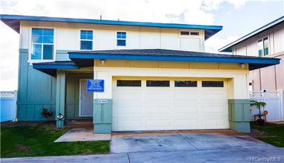 kapolei Single Family Home In Escrow Showing: 91-1031 Aukahi Street