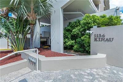 Honolulu Condo/Townhouse For Sale: 1134 Kinau Street #501