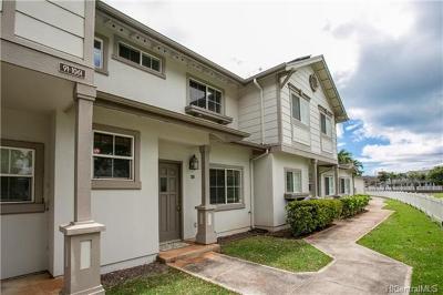 Honolulu County Condo/Townhouse For Sale: 91-1061 Keoneula Boulevard #G3