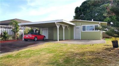 Waipahu Single Family Home For Sale: 94-403 Kipou Street