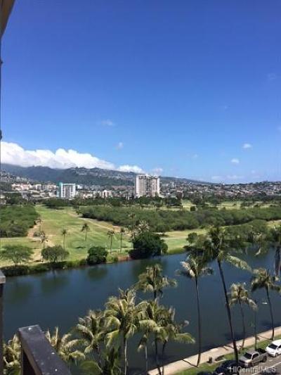 Honolulu Condo/Townhouse For Sale: 2345 Ala Wai Boulevard #1215
