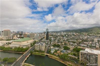 Honolulu County Condo/Townhouse For Sale: 1888 Kalakaua Avenue #3202