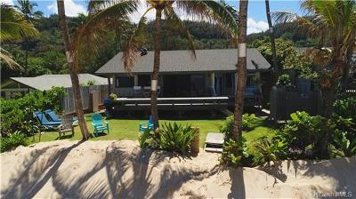 Haleiwa HI Single Family Home For Sale: $3,795,000