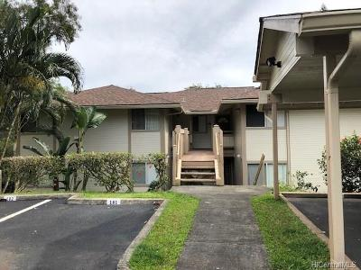 Mililani Condo/Townhouse For Sale: 95-510 Wikao Street #G201