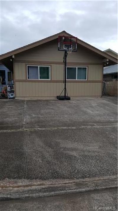 Wahiawa Single Family Home For Sale: 608 Kulia Street