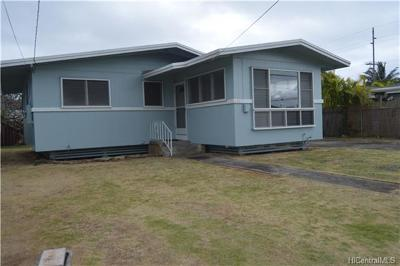 Single Family Home In Escrow Showing: 514 Olomana Street