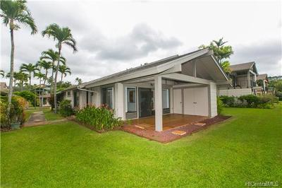 Pearl City Condo/Townhouse In Escrow Showing: 98-1694 Kaahumanu Street #A