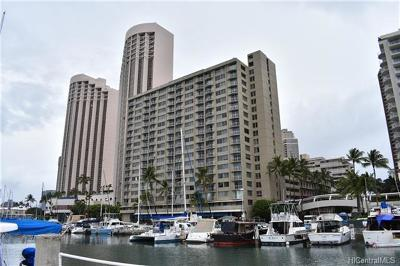 Honolulu County Condo/Townhouse For Sale: 1765 Ala Moana Boulevard #1179
